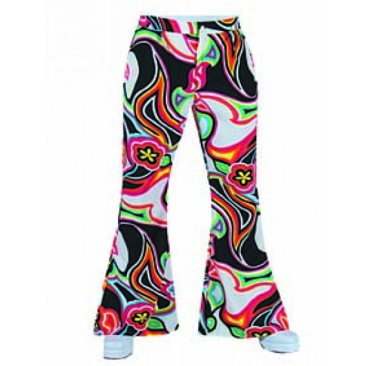 Hippie broek heren disco fantasy