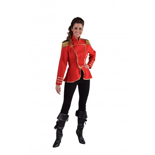Uniform jas dames rood