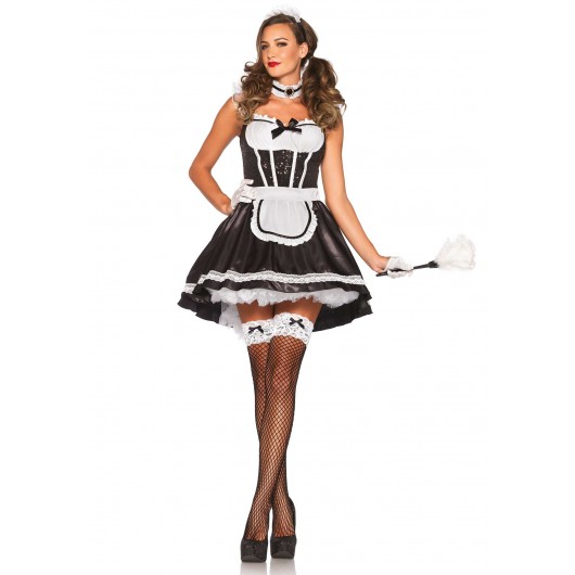 French Maid Darling kostuum dames