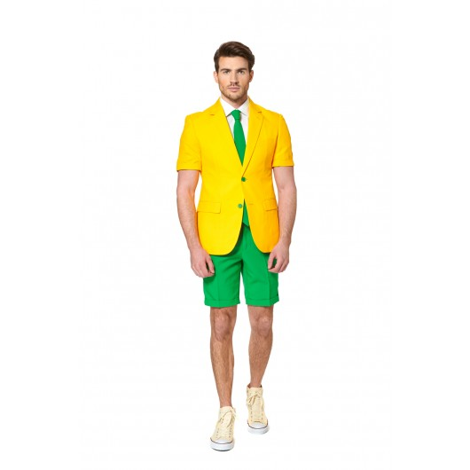 OppoSuits Green and Gold Summersuit