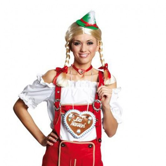 Oktoberfest traditionele blouse dames