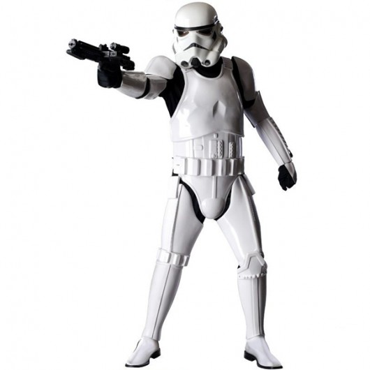 Star Wars Stormtrooper kostuum collectors item heren