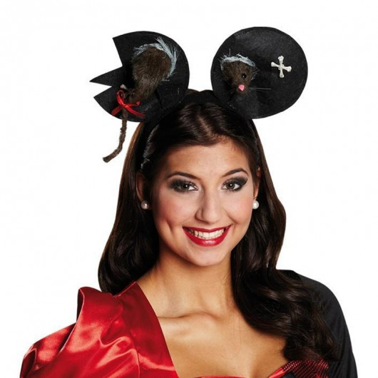Zombie mouse haarband