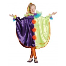 Clowns Cape verkleedkleding kind