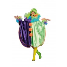 Clown Cape verkleedkleding dames