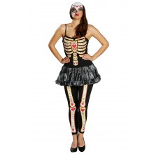 Day of Dead verkleedkleding dames