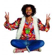 Flower Power verkleedkleding heren