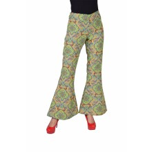 Hippie broek dames summer of love