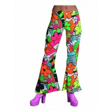 Hippie broek dames woodstock