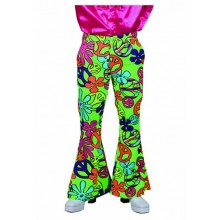 Hippie broek heren peace