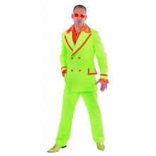 fluor groen suit heren