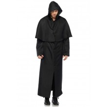 Hooded Button Front Cloak kostuum heren