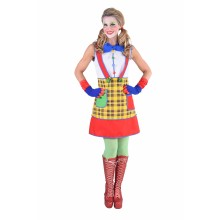 Clown jurk dames Coco