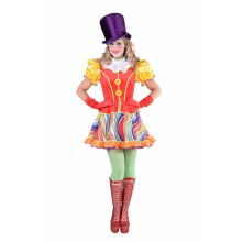 Clown jurk dames Rainbow