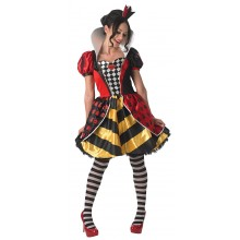Queen of Hearts verkleedkleding dames