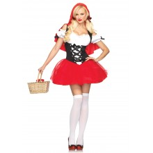 Racy Red Riding Hood kostuum dames