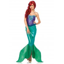 Deluxe Fairytale Mermaid kostuum dames