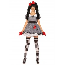 Wind-Up Doll kostuum dames