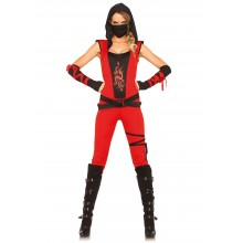 Ninja Assassin kostuum dames