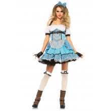 Rebel Alice in Wonderland kostuum dames