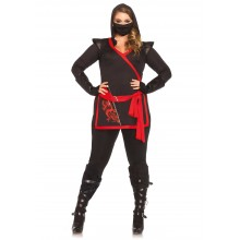 Ninja Assassin kostuum dames plus