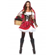 Rebel Red Riding Hood kostuum dames