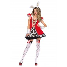 Tick Tock White Rabbit kostuum dames