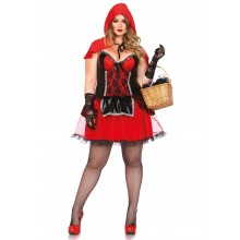 Shapewear Costume Riding Hood kostuum dames plus