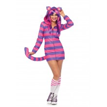 Cozy Cheshire Cat kostuum dames