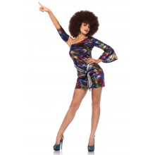 Disco Chick Dress kostuum dames