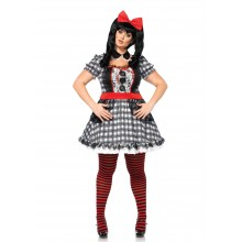 Darling Baby Doll kostuum dames plus