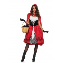 Classic Red Riding Hood kostuum dames