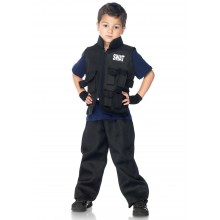 Swat Officer Kostuum Kind