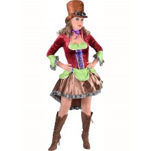 Steampunk jurk dames Burlesque