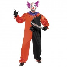 Clown Scary Bo Bo kostuum heren