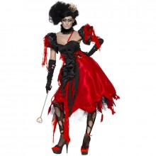 Horror queen of hearts kostuum dames