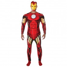 Iron Man Deluxe kostuum heren