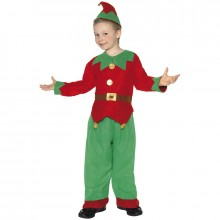 Elf kerstkleding kind