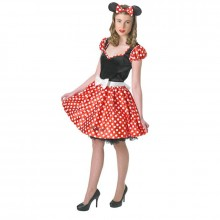 Minnie Mouse kostuum dames