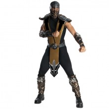 Mortal Kombat Scorpion kostuum heren