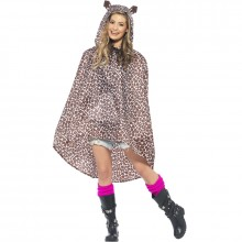 Party Poncho luipaard