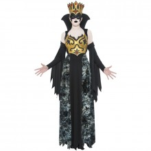 Phantom queen kostuum dames