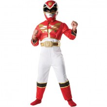 Power Ranger Megaforce rood kostuum kind
