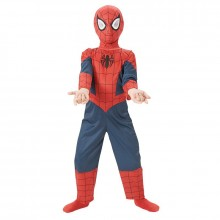 Spiderman Ultimate classic kostuum kind zacht masker