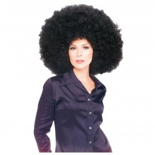 Super afro pruik dames